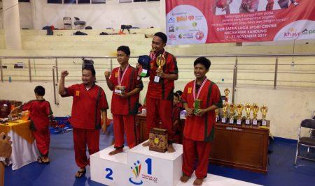 Busyro Santri Baniin Pesantren PQBS (Juara 1 dan 3 Ekshibisi Nasional XVI Thifan Tsufuk)